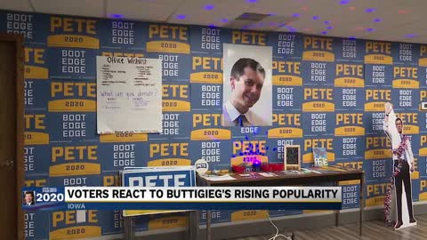 Buttigieg gaining popularity in the Iowa caucus Part 2