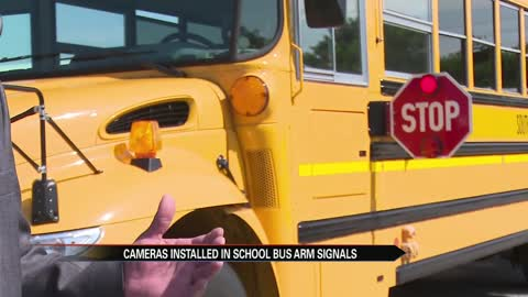 Cameras added to South Bend school bus arm signals