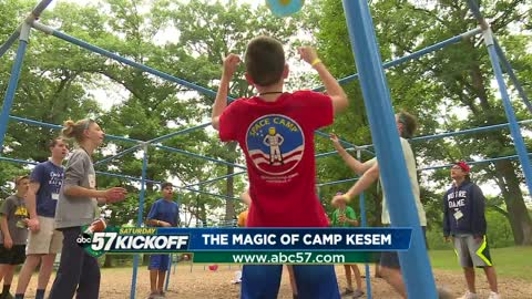 Camp Kesem 'magical' for kids whose parents have cancer