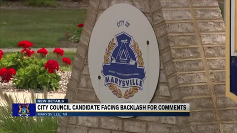 "Candidate says Marysville, Michigan should be as white ""as possible"""