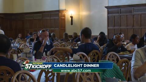 'Candlelight Dinner' part of game day tradition