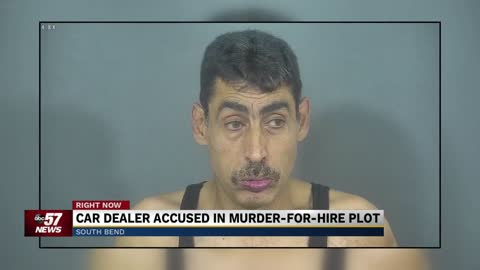 Car dealer accused in murder-for-hire plot