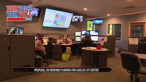 Cass County 911 dispatch seeks millage renewal for August voters