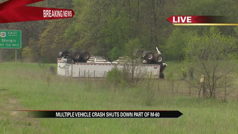 Multiple vehicle crash in Cass County