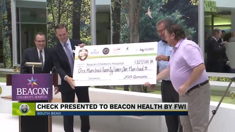 Ceremony in downtown South Bend celebrates $127k gift for Beacon...