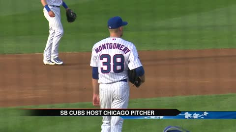 Chicago pitcher Montgomery makes rehab start with SB Cubs