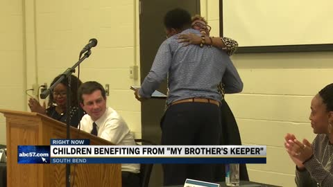 Children benefitting from city-wide 'My Brother's Keeper' initiative