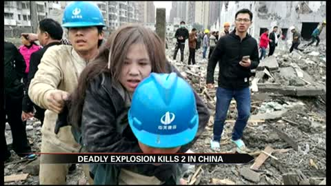 China explosion: 2 killed in port city of Ningbo