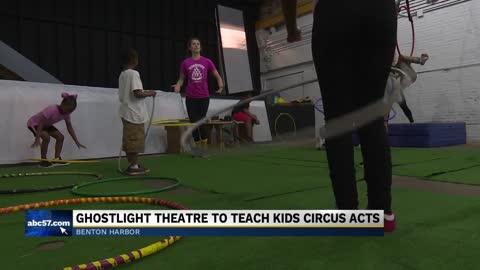 Organization empowering local kids through circus