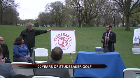 City of South Bend celebrates 100 years of the Studebaker Golf Course