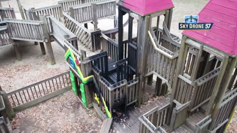 Kids Kingdom goes up in flames, city officials look to clean up
