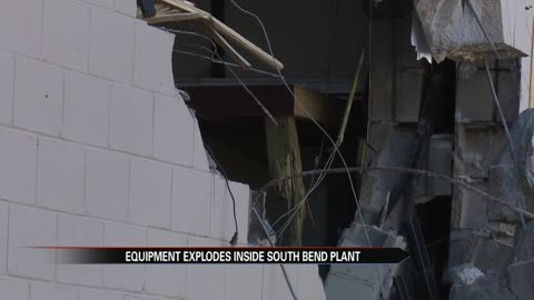 Cleanup begins after explosion at a South Bend manufacturing company