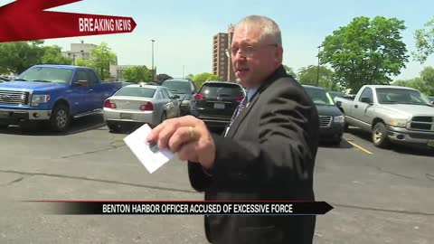 Benton Harbor cop fired, charged with assault