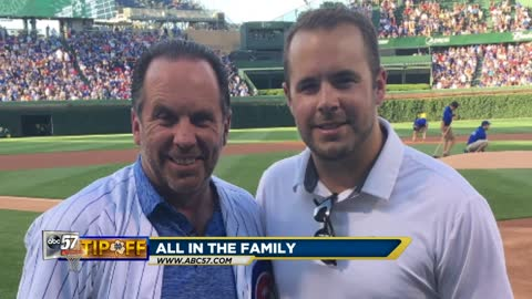 Coach Brey's son says he's a great father, grandfather