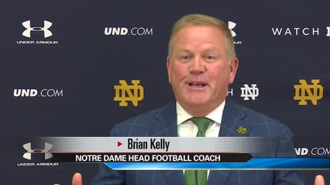 Coach Kelly confident in Brandon Wimbush as quarterback for opener