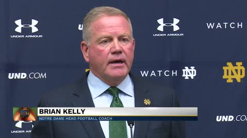 Coach Kelly discusses player mindset heading into first game of the season