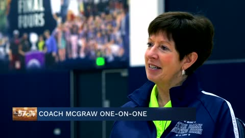 Coach Muffet McGraw discusses the challenges of a rebuilding...
