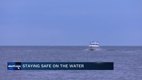 Coast Guard reminds people to stay safe on the water this weekend,...