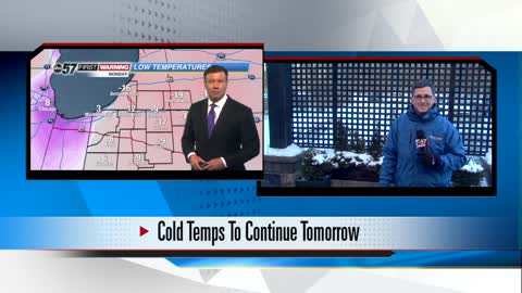 Arctic air staying; February and March looking cold