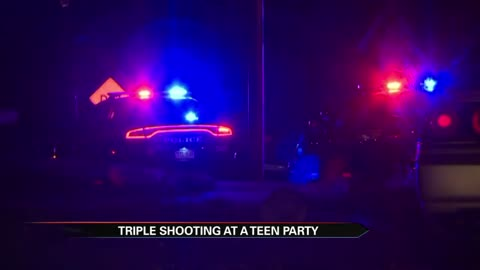 Colorado Springs Police are investigating a shooting involving multiple victims at a teen party.