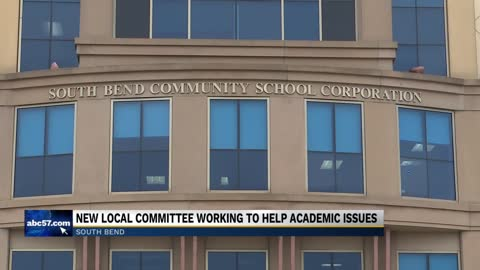 Committee meets with South Bend Schools to address academic issues...