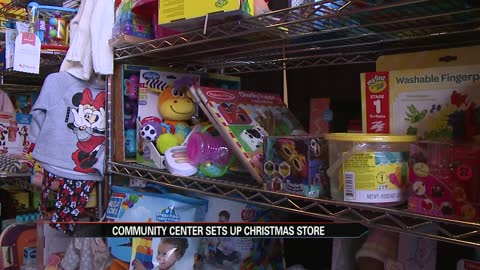 South Bend community center hosts pop-up shop for the needy