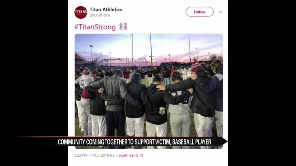 Community Coming Together To Support Iusb Baseball Player