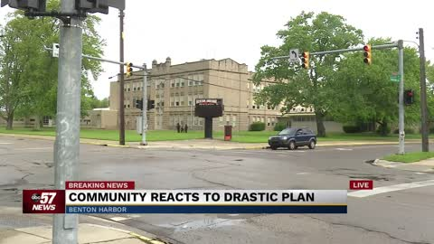 Community concerned about proposal to shut down Benton Harbor...