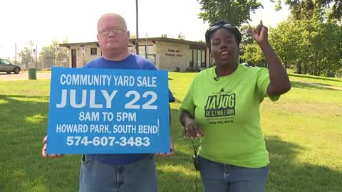 Community yard sale to help the homeless