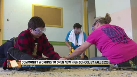 Community working to open new high school by fall 2020