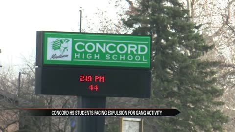 Concord High School disruption could be gang related