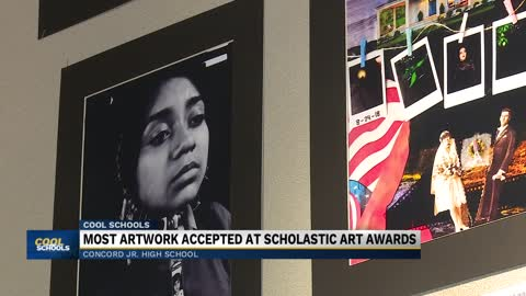 Concord Jr. High School art program helping students win awards,...