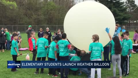 Concord Ox Bow students hold 3rd weather balloon launch