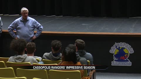 Congressman Upton visits Cassopolis to honor boys hoops team
