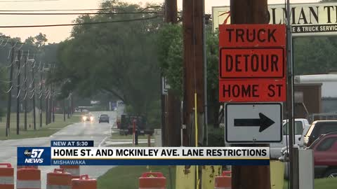 Construction work to cause lane restrictions on Home Street