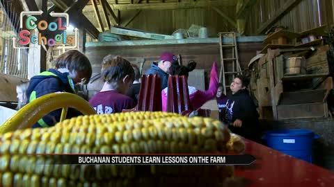 Cool Schools: Buchanan School Farm teaches unique lesson in agriculture