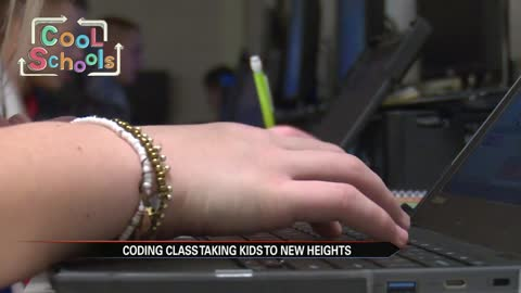 Cool Schools: New coding class preps students for futures in tech