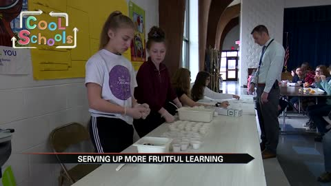 Ring Lardner Middle School serves up fruitful learning