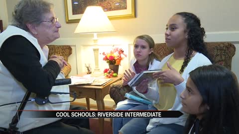 Cool Schools: Riverside Intermediate students forming special bonds with senior citizens