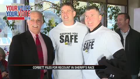 Corbett picks up two votes from provisional ballots, requests recount