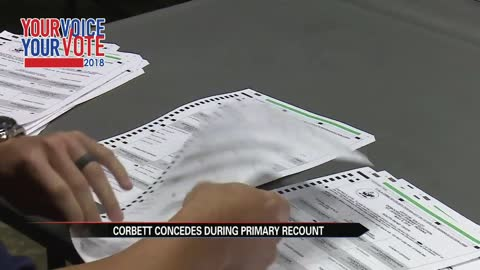 Corbett suspends recount, Bill Redman wins election