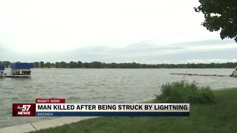 Coroner identifies man killed in lightning strike on Lake of...