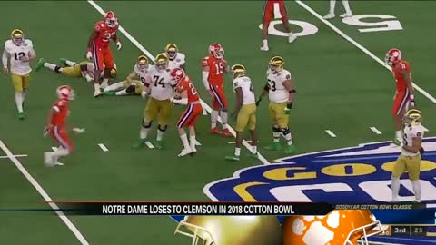 Notre Dame loses to Clemson in Cotton Bowl Classic (30-3)