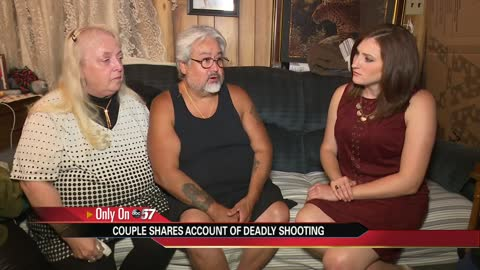 Caught in the Chaos: couple shares account of deadly shooting