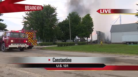 crews on scene of large farm fire in constantine 2