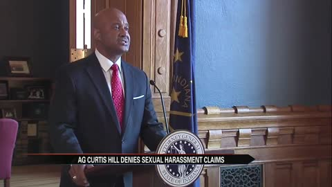 Attorney General Curtis Hill holds press conference