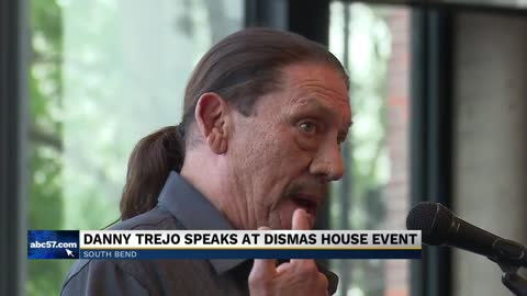 Danny Trejo speaks at Dismas House event; shares his story as an ex-convict