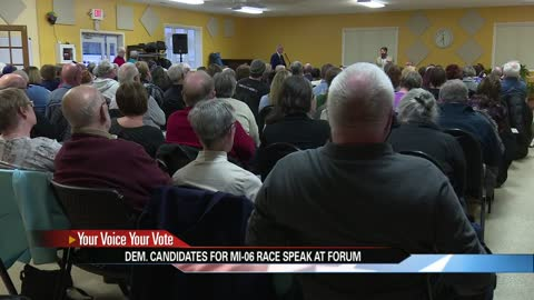 Democrats looking to face Rep. Upton take part in forum in Niles