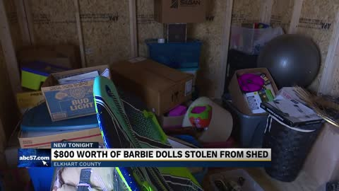 Deputies searching for suspect in theft of $800 worth of Barbie...