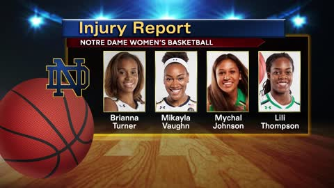 Despite injures, Notre Dame's women take on UConn in Final Four